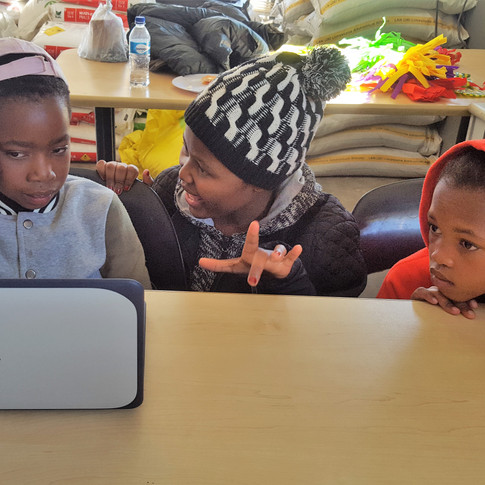 After school program at the Agricultural Innovation Lab