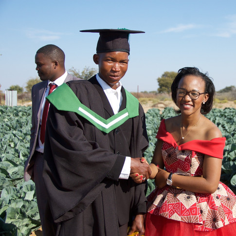 First Cohort Graduation