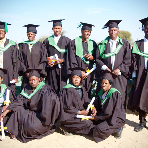 Our First Graduates