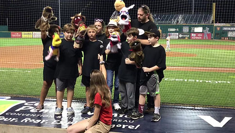 "Puppet Camp: The Musical sings ""Take Me Out to the Ball Game!"""