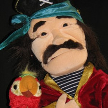 Johnny the Pirate and Polly the Parrot