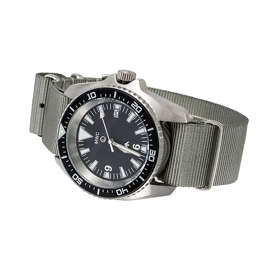 Military Divers Watch Stainless Steel