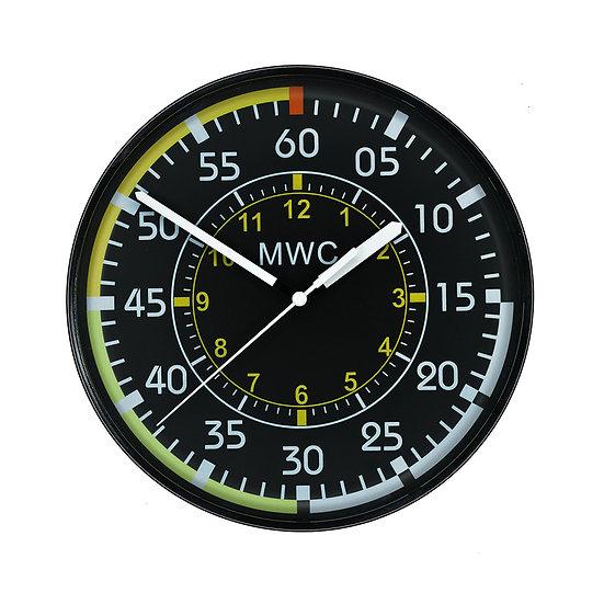 Aircraft Instrument Airspeed Indicator Wall Clock