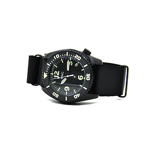 """MWC """"Depthmaster"""" 100atm Water Resistant Divers Watch"""