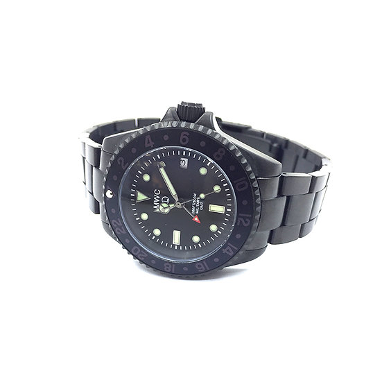 GMT Dual Timezone PVD Military Watch