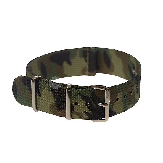 Temperate Camouflage NATO Military Watch Strap