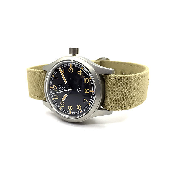 1940-60s Pattern General Service Watch with 24 Jewel Auto Mov (Retro Dial)