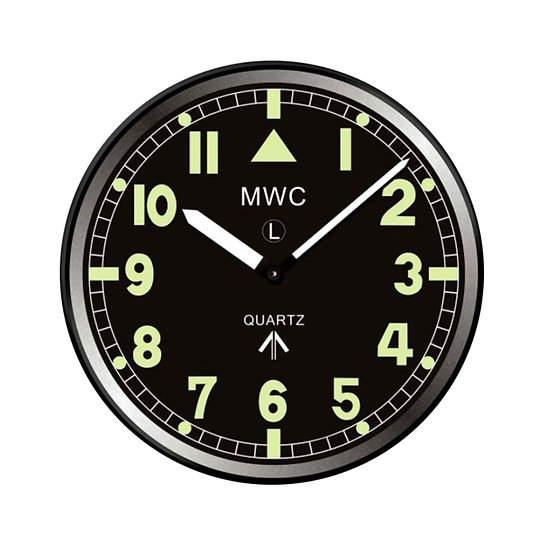 Retro G10 Pattern Military Wall Clock