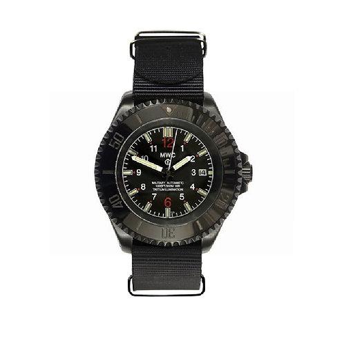 24 Jewel 300m PVD Automatic Military Watch with Tritium GTLS