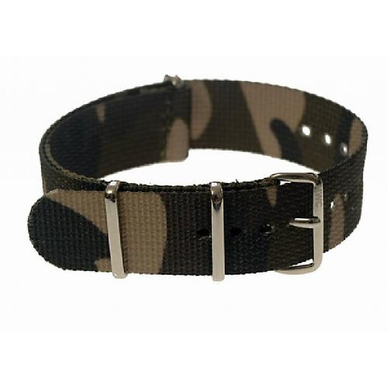 Multirole Camouflage NATO Military Watch Strap