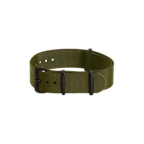 NATO Watch Strap with PVD Black Covert Buckles