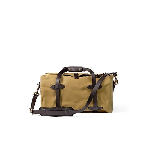 Filson RUGGED 斜紋布行李袋 - 小號棕褐色
