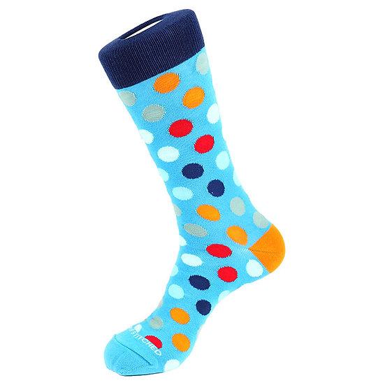 Unsimply Stitched Big polka dot crew socks