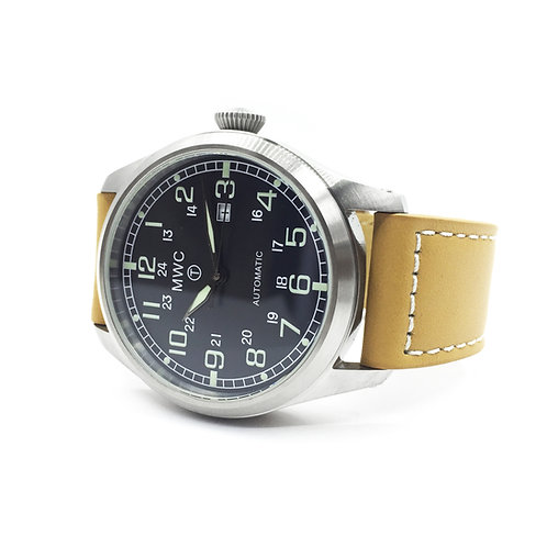 Classic 46mm Limited Edition XL Military Pilots Watch