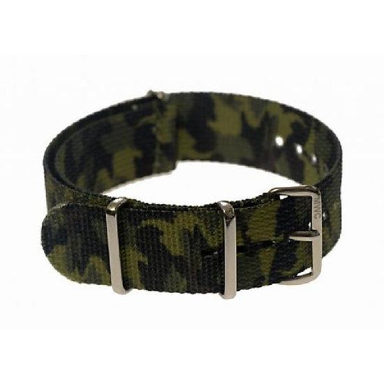 Jungle / Tropical Camo NATO Military Watch Strap