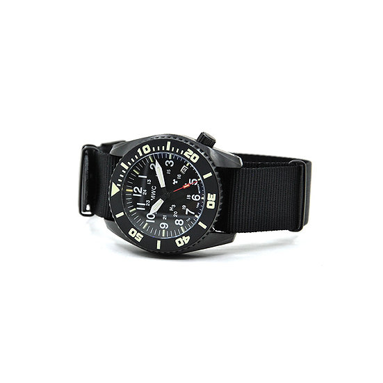 "MWC ""Depthmaster"" 1000m Water Resistant Military Divers Watch"