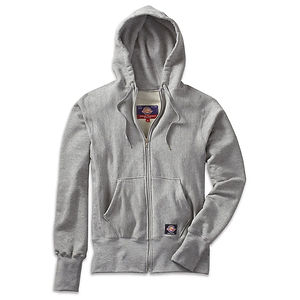 Goodwear S Curve Full Zip Hoodie in Looped French Terry