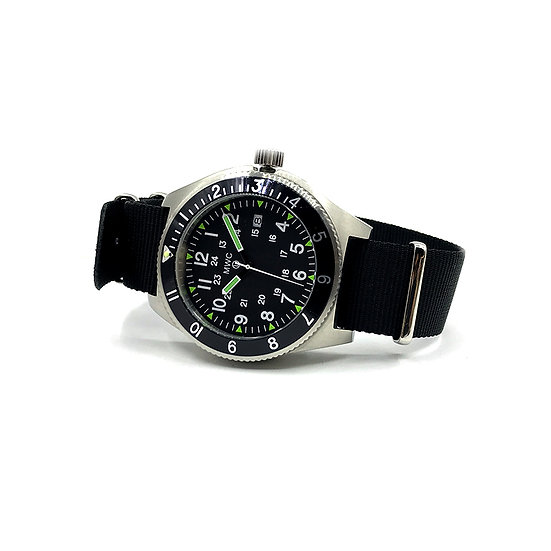 300m Water Resistant Stainless Steel Navigator Watch with Super Luminova