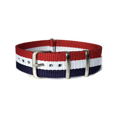 Stripe Nato Watch Strap (Flag)