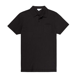 SUNSPEL Riviera Polo Shirt Black