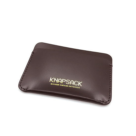 Knapsack Leather Cardcase