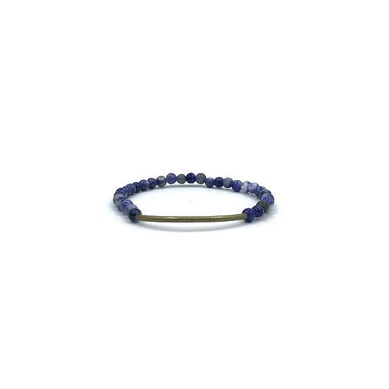 BRANCO Tubular Indigo Sodalite Bracelet