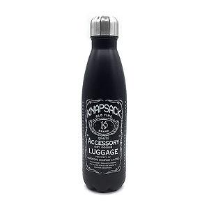 Knapsack whiskey water bottles