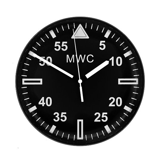 """MWC 2018 Military Pattern 22.5 cm (approx 9"""") Wall Clock"""