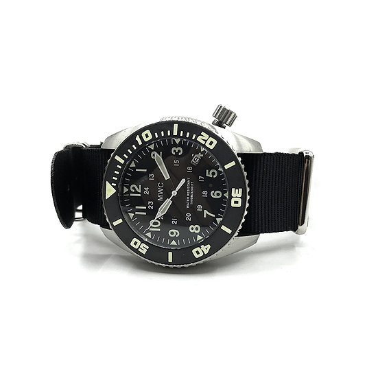 """""""Depthmaster"""" 100atm / 3,280ft / 1000m Water Resistant Military Divers Watch"""