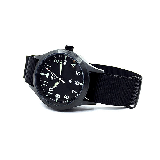 MWC MKIII (100m) 1950s Pattern Automatic Military Watch in black PVD