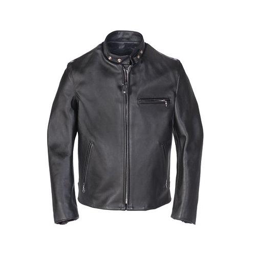 Single Rider Steerhide Leather Motorcycle Jacket