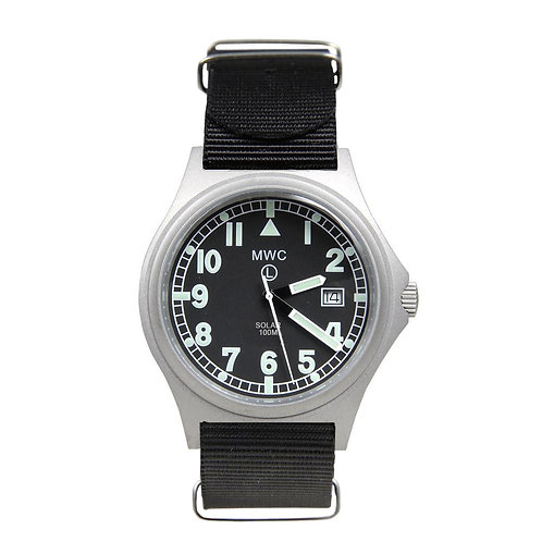 G10 100m Titanium Military Watch with Super Luminova (Solar)