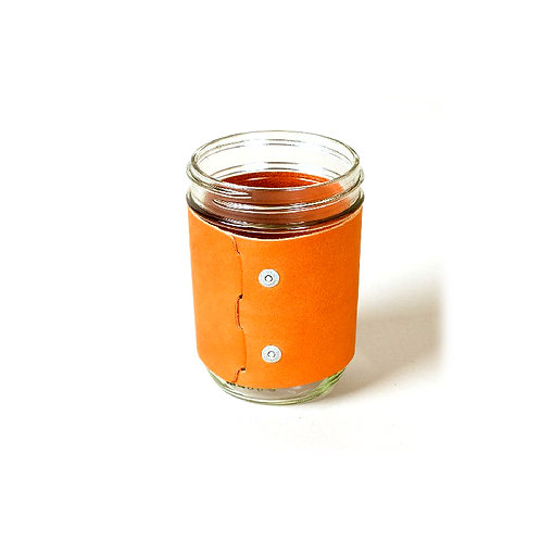 Wood & Faulk Drinking Glass Jar Sleeve