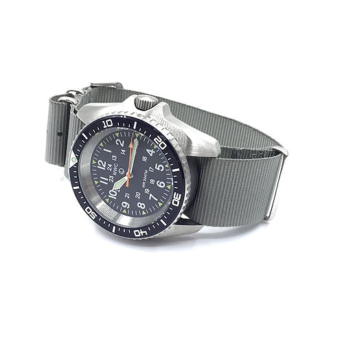 12/24 Military Divers Watch