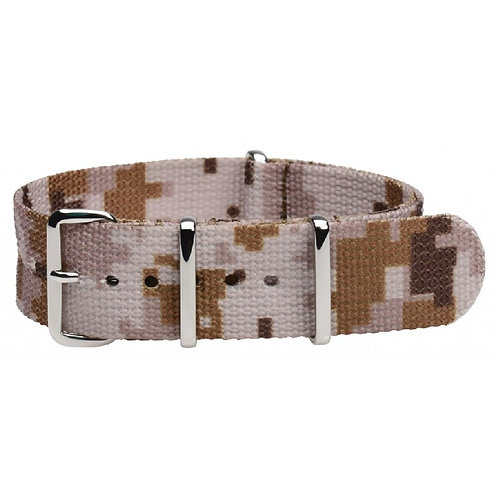 US ACU Digital Camo Desert NATO Military Watch Strap