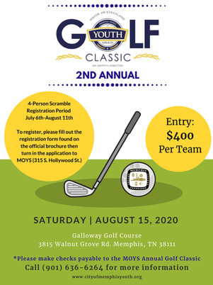 2020 Golf Classic Flyer Final Without Ti