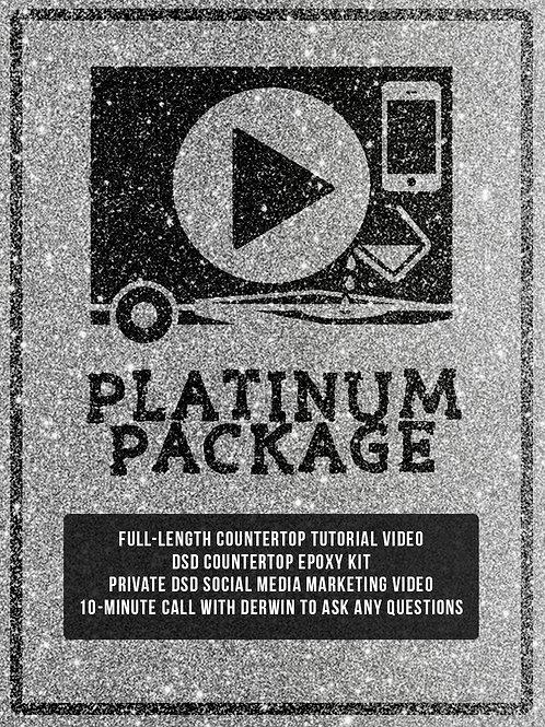 Platinum Package - DSD Countertop Tutorial