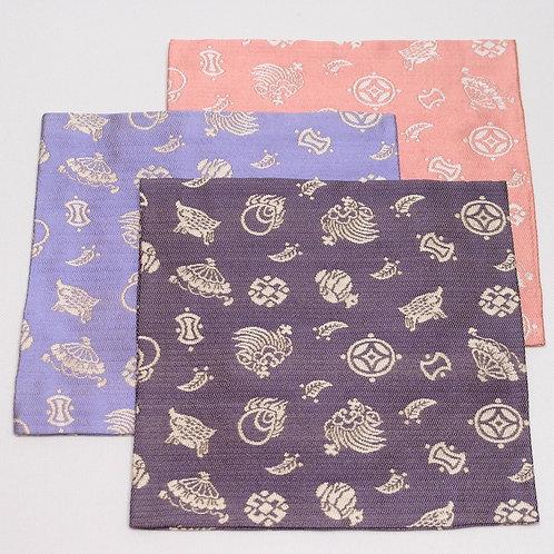 Silk KOBUKUSA, Takarazukushi with Boar, auspicious pattern, unused