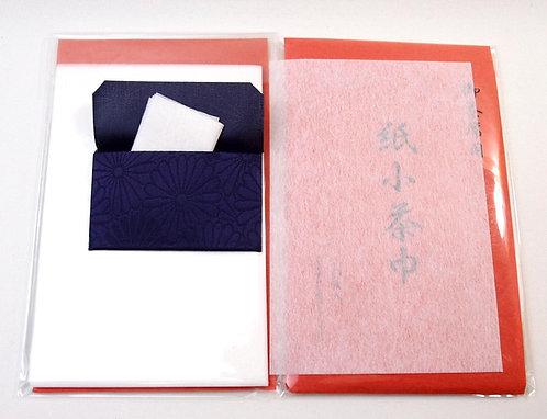 Kojakin & kojakin-basami Case, water-absorbent thick paper, Kami-Chakin