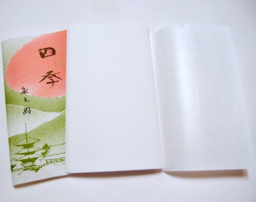 Waterproofed the reverse side, Kaishi paper for woman,