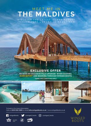 JOALI Maldives x Winged Boots ad