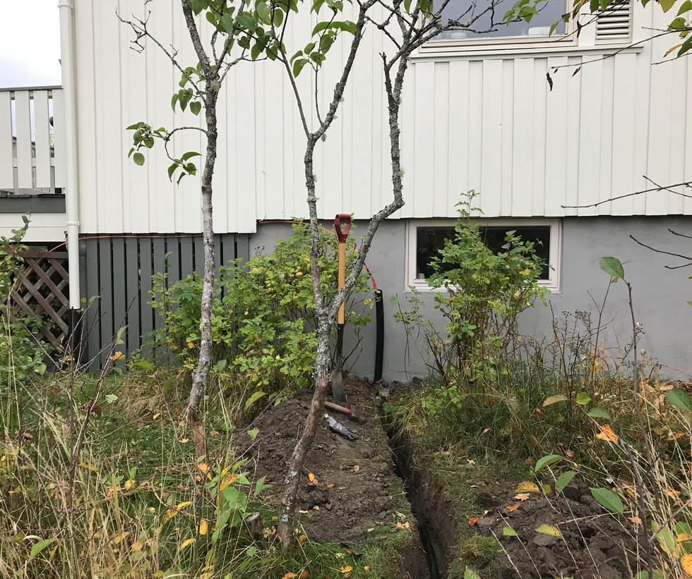 Søndag 4. oktober er det første huset klart for tilkobling på Solum!