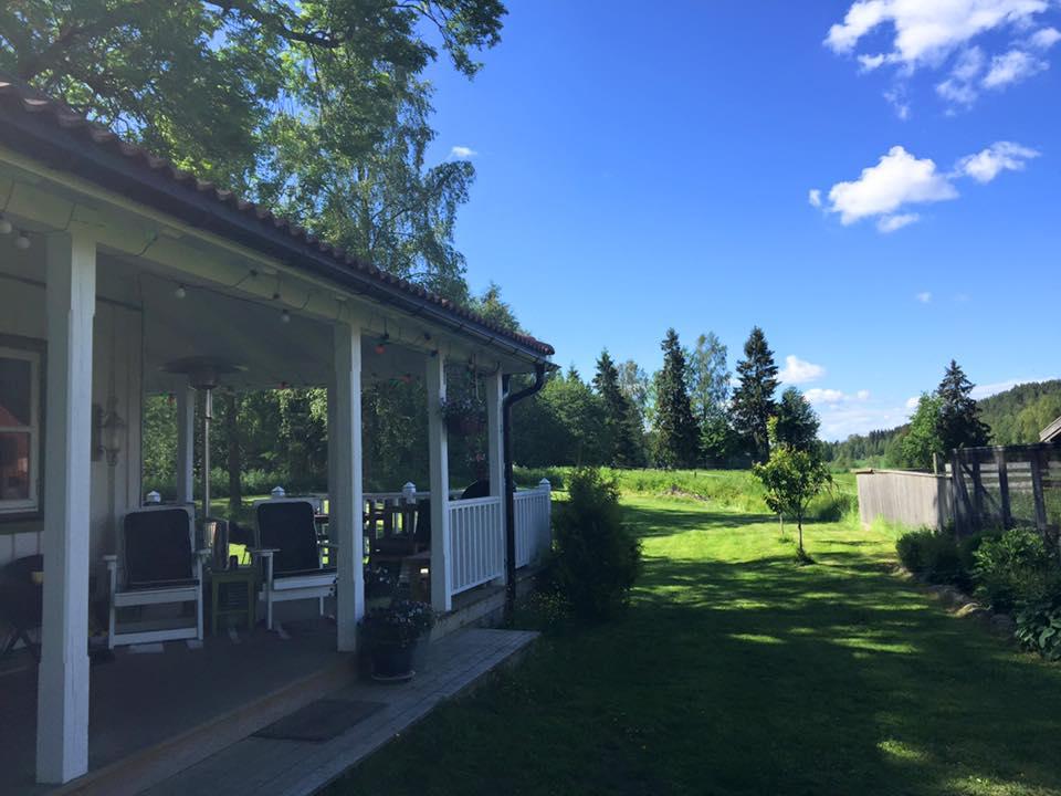 Porchen og hage