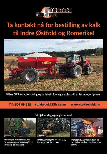 Annonse for Stokkebekk Transport