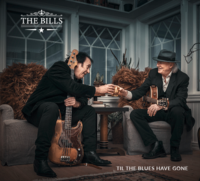 "CD Cover album ""Til The Blues Have Gone"""