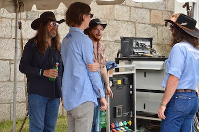 Colter Wall & Band backstage
