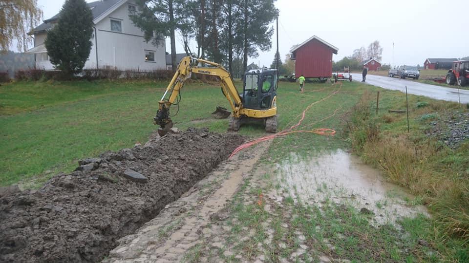 Lørdag 10. oktober: Rimelig vått og gjørmete for laget på Enga idag.
