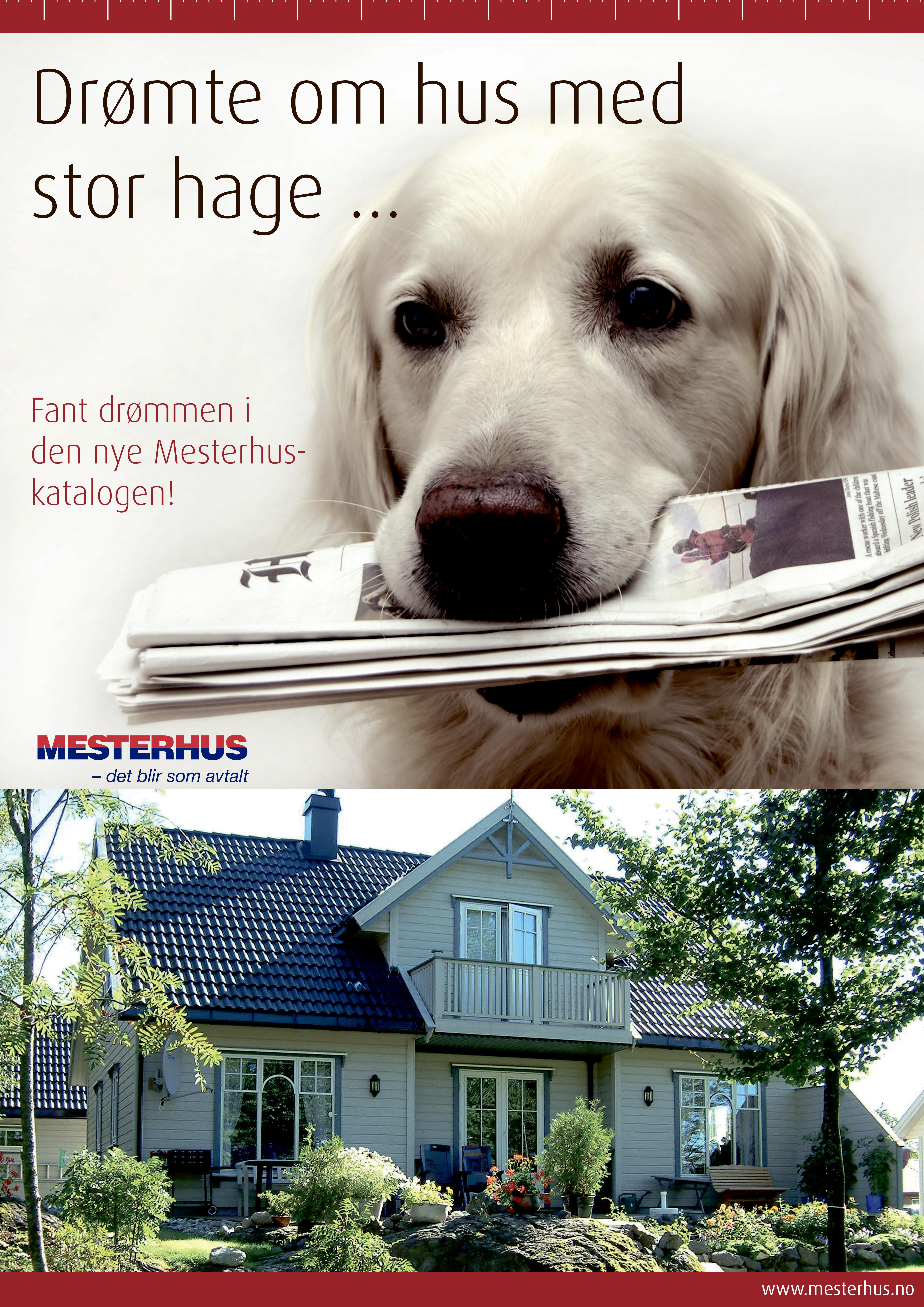 Annonser og plakater for Mesterhus