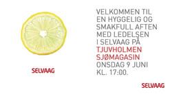 Invitasjon event for Selvaag Bolig