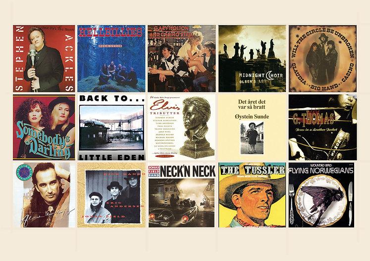 De 15 beste americana-albumene fra 1970 til 1999.